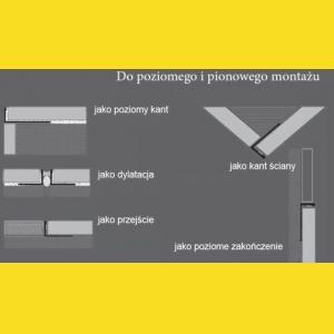 11918S Nowart Listwa dylatacyjna 11918S Nowart
