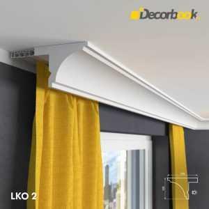 LKO2 Decor System Listwa maskująca karnisz LKO2 Decor System