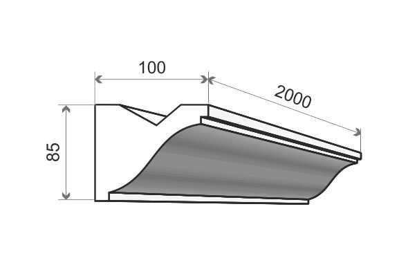 LO3 Decor System Listwa oświetleniowa LO3 Decor System