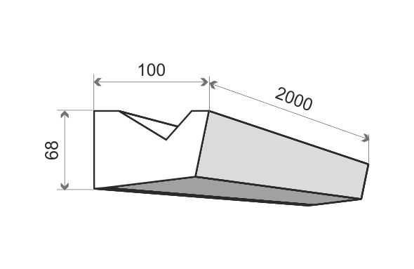 LO4 Decor System Listwa oświetleniowa LO4 Decor System