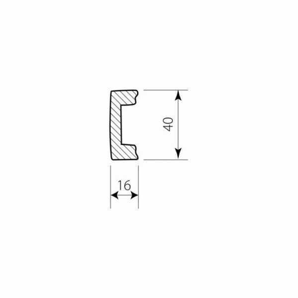 PW 5104-P Decor System Mech Plastikowa listwa przypodłogowa DSP10 Decor System Mech