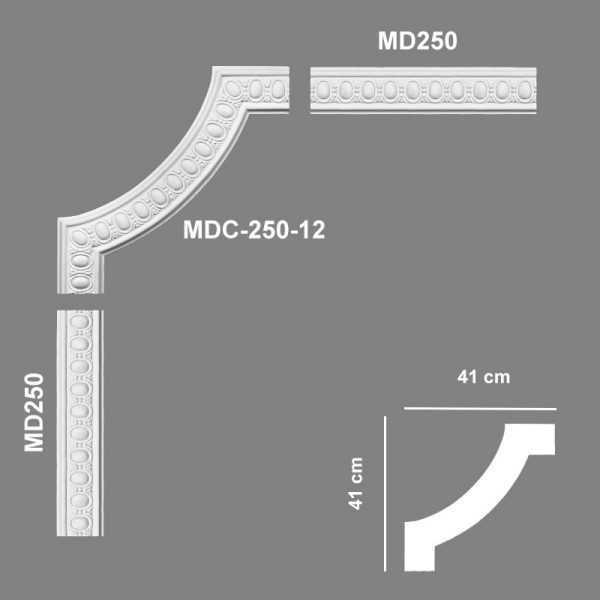 MDC25012 Mardom Decor Narożnik Ozdobny MDC-250-12 Mardom Decor