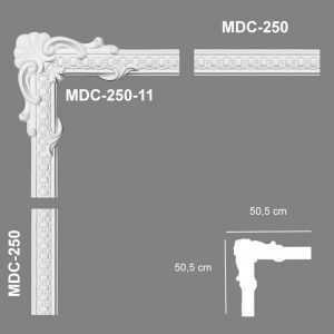 MDC-250-11 Mardom Decor Narożnik Ozdobny MDC-250-11 Mardom Decor