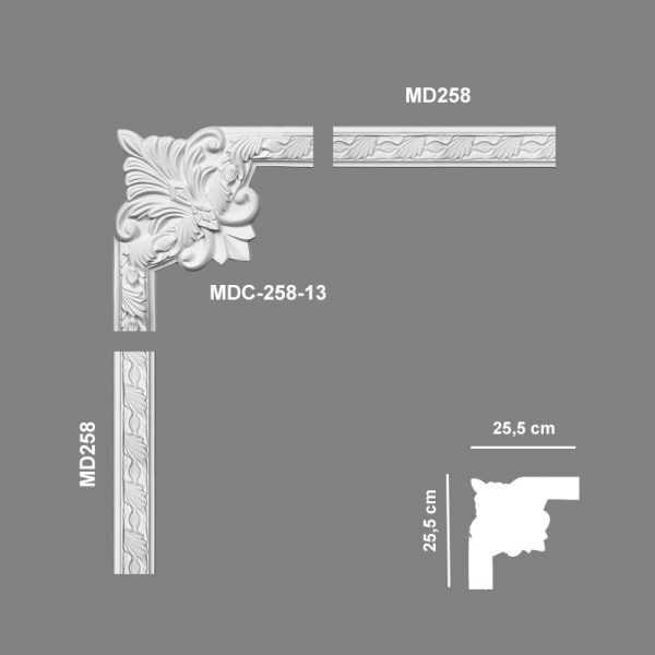 MDC25813 Mardom Decor Narożnik Ozdobny MDC258-13 Mardom Decor