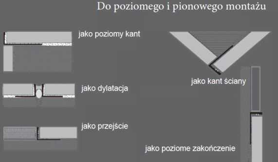 1198S Nowart Profil dylatacyjny łączeniowy 1198S Nowart