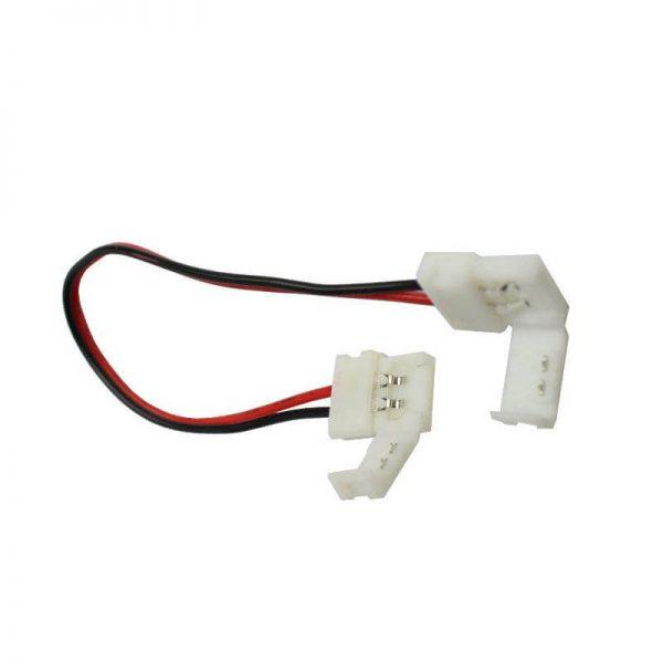 ZLA200K10 Decor System Złączka do taśmy LED CLICK 10mm 2 pin Decor System