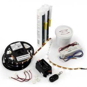 zestaw Decor System Zestaw LED do taśmy oświetleniowej RGB i zwykłej Decor System
